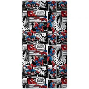 Spiderman laken 90x200cm