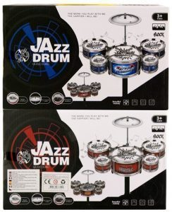 Jazz Drum trommesett