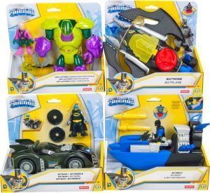 Fisher-Price DC Super Friends Batman figurer/kjøretøy